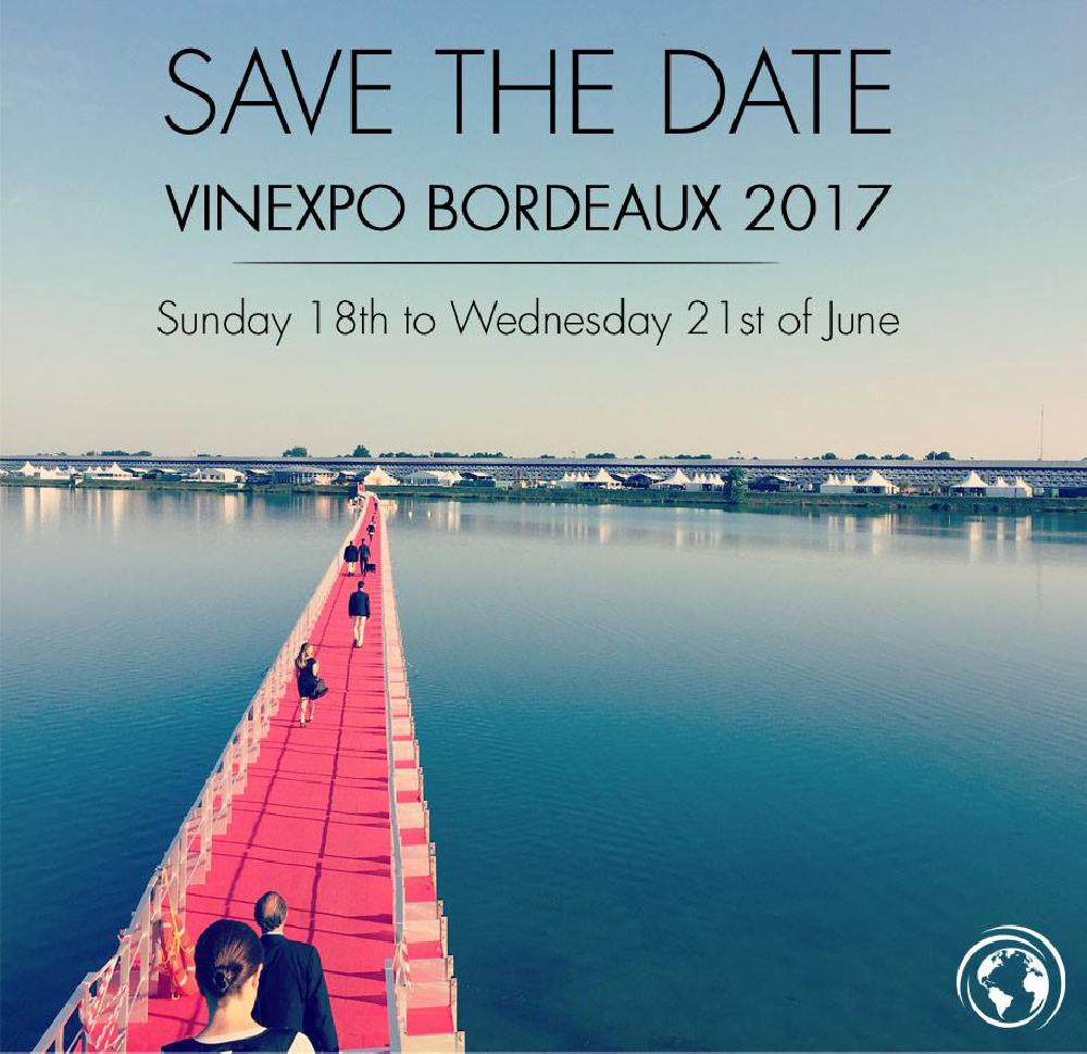 VINEXPO 2017<br><b>Save the Date</b>