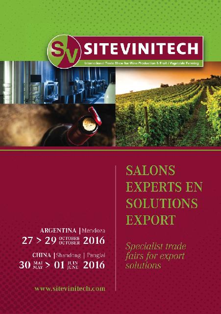 SITEVINITECH<br><b>Salons experts en solutions export</b>