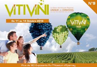 Epernay - Du 11 au 14 octobre 2016<br><b>Le VITI VINI 2016 dans les starting blocks</b>