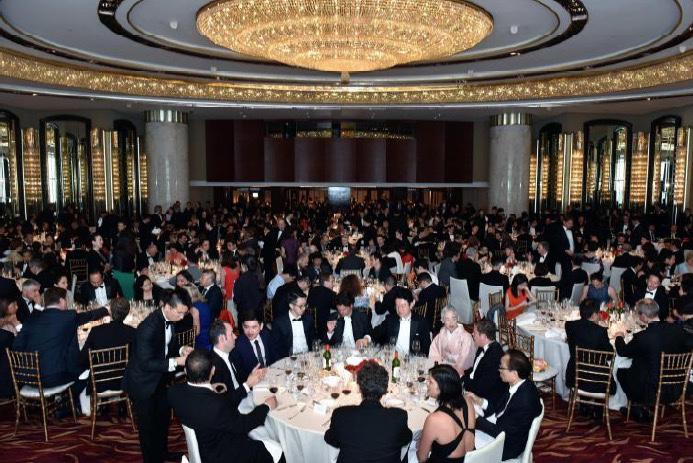 VINEXPO 2016<br><b>Diner de Gala de la commanderie du Bontemps</b>