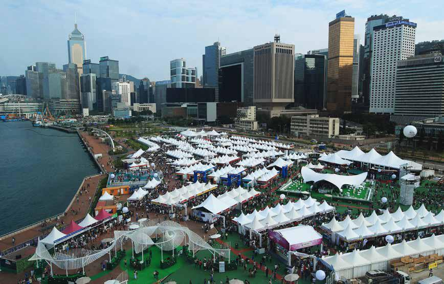 Du 26 au 29 octobre 2017 ( 9e édition)<br><b>Hong-Kong Wine and Dine Festival</b>
