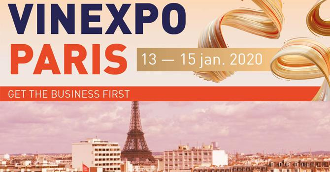 Vinexpo Paris 2020<br><b>Le bon investissement !</b>