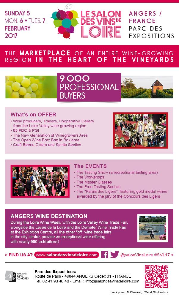 La journ e vinicole agenda du vin du au for Salon des vins de loire 2017